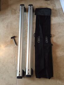 Audi Q5 Roof Bars and Bag - very good condition