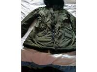 Girls coat 11 -12 years