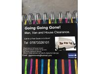 Man and van - house moves - house clearance