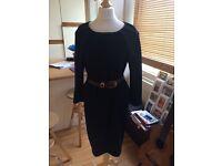 Classic black Dress COS UK 8