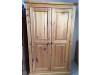 HOUSE CLEARANCE -- Small Wardrobe [One rail & shelf inside] - No Damage - COLLECT GL19 3RT