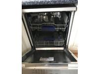 Siemens SN25M831GB IQ100 12 Place Freestanding Dishwasher - Anti-Fingerprint Stainless Steel