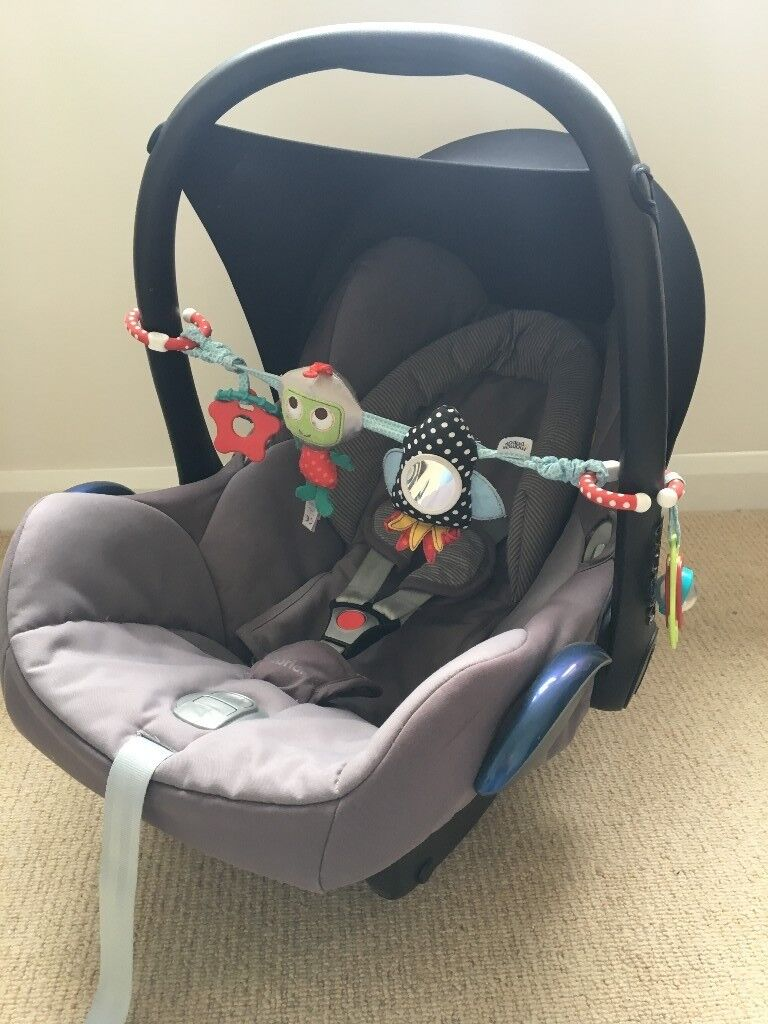 Maxi Cosi Cabriofix Car Seat Bundle