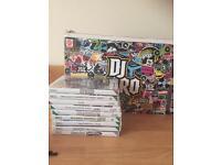 DJ hero deck and Wii games
