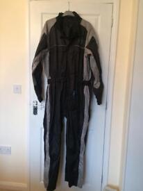 Waterproof all in one bike suit
