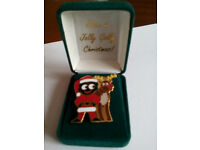 Robertsons Jolly Golly Christmas Badge (0035 of 10,000) Limited Edition