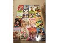 Over 50 assorted books