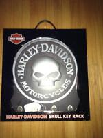 Harley Davidson Skull Key Rack -NEW