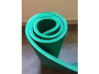 Thick Green Yoga Mat