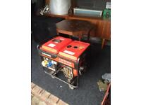 3kva electric /pull start generator