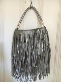 Silver Tassel bag