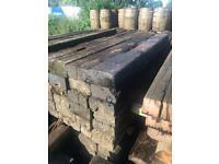 Reclaimed hardwood railway sleepers £30 each