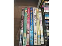 A set of DVDs