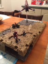 Halo battlescape with figures