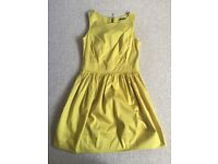 Yellow / green dress from Primark size 10
