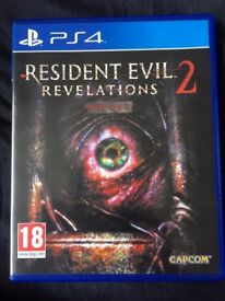 Resident Evil Revelations 2 - Sony Playstation 4 Game - PS4 Survival Horror Action Zombie Biohazard