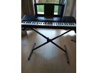Yamaha YPT220 Portable Keyboard with stand