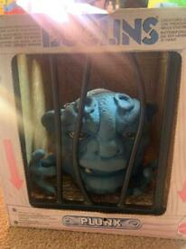 Rare collectable Boglins Box Including Plunk, vintage 1980's toys