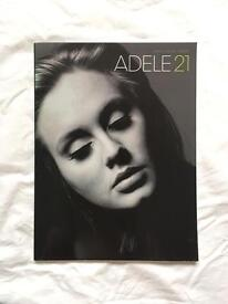Adele 21 piano vocal guitar sheet music book
