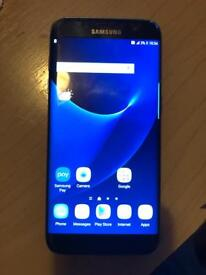 Samsung S7 EDGE 32GB Black o2 (read description)