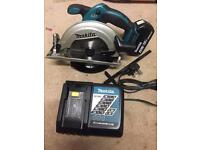 Makita 18v circular saw new 4amp battery Bosch dewalt