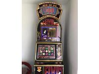 ELVIS FRUIT MACHINE £500 JACKPOT