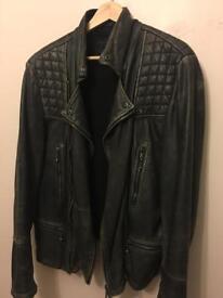 Men's all saints leather jacket