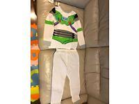 Brand New Toy Story Double Sided Buzz/Woody Pyjamas (Age 6-7)