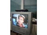 PANASONIC TV- VIDEO COMBI - MODEL NO: TX-14GV1 (34cm)