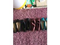 Bundal of new Lady shoes uk size 7