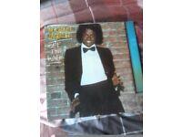 original Michael Jackson off the wall vinyl