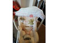 Mothercare - Winnie the Pooh baby rocker
