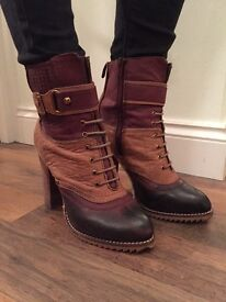 Women's heeled boots for sale!