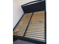 200 × 160 bed frame. Neatly used & in a good condition. I'm selling it because I need a bigger size