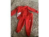 Baby Adidas tracksuit
