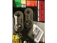 SNES mini classic new never been out the box