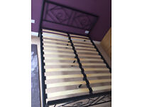 Double bed frame, very good condition