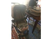 iCandy Cherry pushchair and bassinet with extras