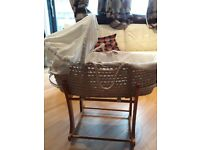 Mamas & Papas Moses basket in perfect condition