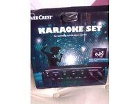 Karaoke set 2 microphones Brand new £10 bargain