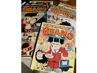 50 Vintage Beano comics 1980's to 2000,s All are in good condition
