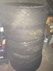 225/65/R17 all weather brand new