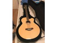 Harley Benton Electro Acoustic Bass