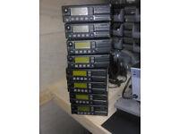 8 icom vhf high band radios F1010