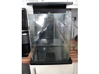 Stylish 30ltr nano fish tank with curved corner
