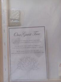 Wedding Guest Tree Canvas.