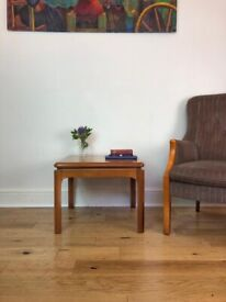 Mid-Century Modern Solid Teak Coffee Table by Nathan FREE LOCAL DELIVERY