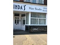 Hair salon to let. Equipped and ready to go! Easy terms. Central Bognor Regis