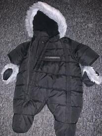 Myleen klass snow suit tiny baby