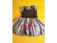 Girls party dresses 2-3